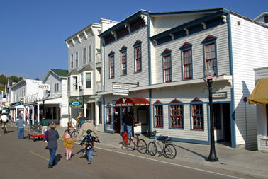 Downtown Mackinac Island