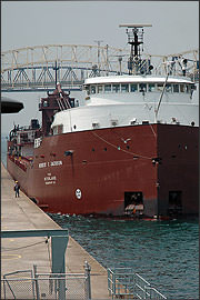 Soo Locks in Sault Ste. Marie